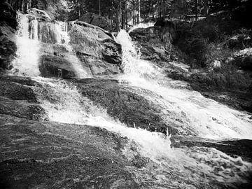 Riesloch Watervallen bij Bodenmais, Beieren 4 van Jörg Hausmann