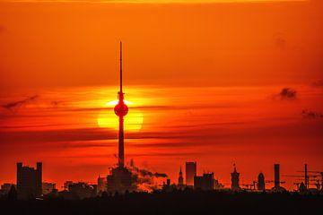 Afrikaanse zon in Berlijn van Salke Hartung
