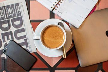 Koffiekopje van Anouk IJpelaar