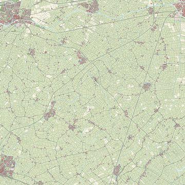 Kaart vanLittenseradeel