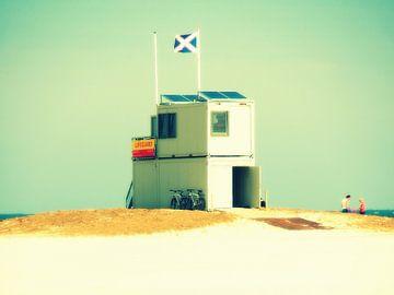 Terschelling - Lifeguard - strand van Robert-Jan van Lotringen