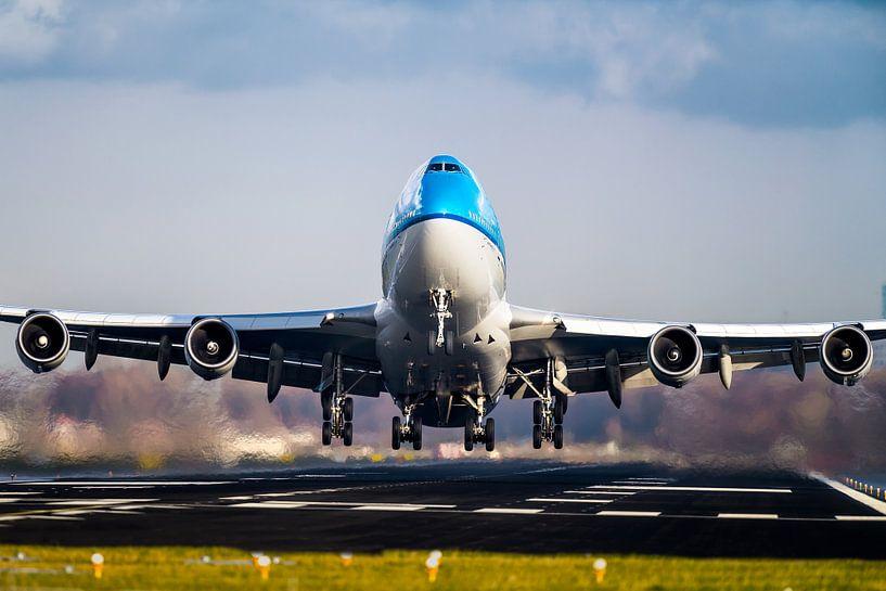 Queen of the Skies - Boeing 747-400 von Dennis Janssen
