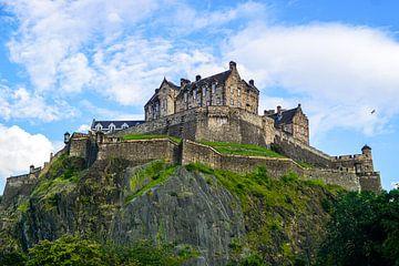 Edinburgh Castle, Edinburgh Schotland von Arjan Schalken