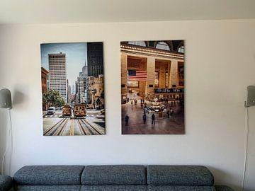 Kundenfoto: De kabeltram van San Francisco is de laatste handbediende kabeltram die nog in gebruik is en staat s von Joris Pannemans - Loris Photography