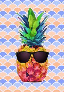 Summer Pineapple van