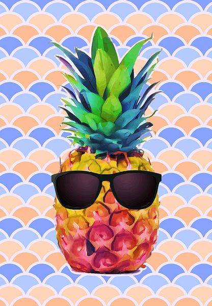 Summer Pineapple van Samuel Chocron
