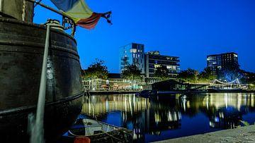 Zomeravond aan de Piushaven