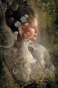 Porträt einer Frau von Rudy & Gisela Schlechter