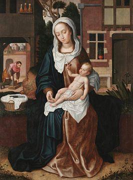 Heilige Familie, geweiht an Pieter Claeissins I