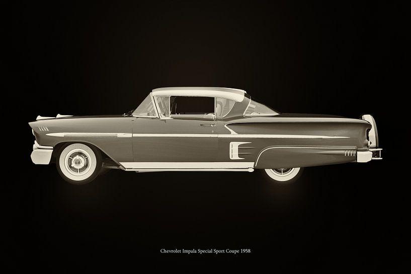 Chevrolet Impala Special Sport 1958 van Jan Keteleer
