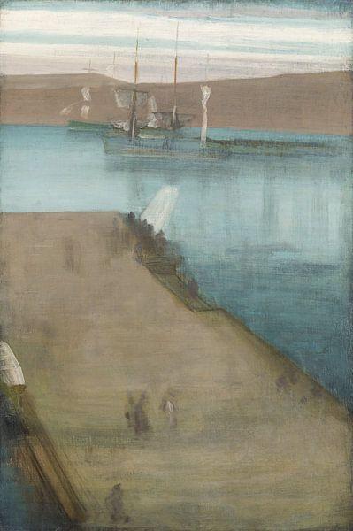 James Abbott McNeill Whistler Hafen Valparaiso von finemasterpiece
