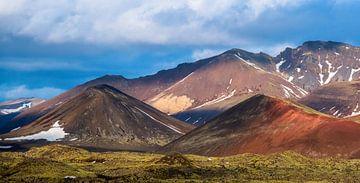 Gekleurde bergen von Joke Beers-Blom