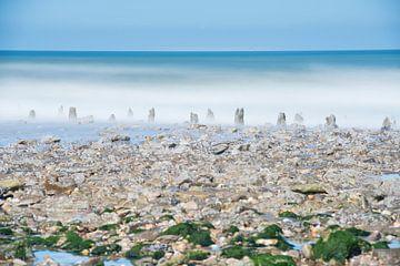 Strandpaaltjes von Wendy van Kuler