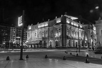 Das Opernhaus des Colón Theaters in Buenos Aires, Argentinien. von Ramon Van Gelder