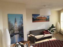Klantfoto: Zuiderkerk Amsterdam van Foto Amsterdam / Peter Bartelings, op canvas