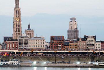 Ponton Antwerpen von