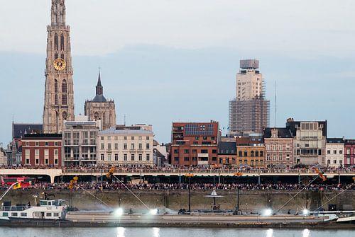 Ponton Antwerpen von Ricky  Oudermans