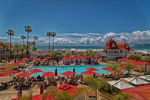 Hotel del Coronado in Coronado, Californië, Verenigde Staten van Mohamed Abdelrazek