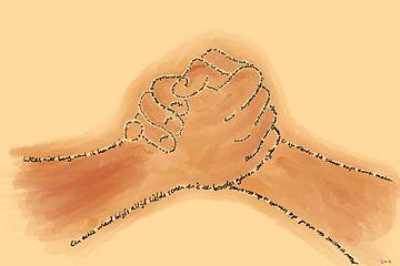 Vriendschap van MishMash van Heukelom