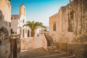 La ville de Naxos (Chora) en Grèce sur Daphne Groeneveld
