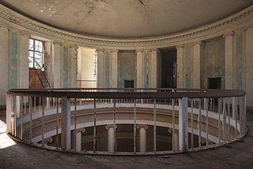 Runder geformter Balkon von Perry Wiertz