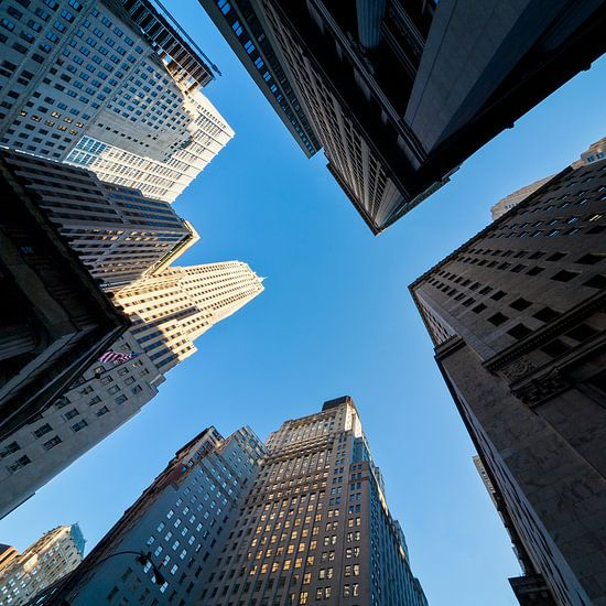 Empire State Building New York hoger dan hoog van Jean-Paul Wagemakers