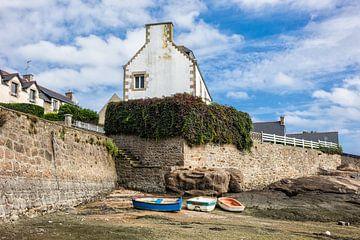 Hafen in der Bretagne von Rico Ködder