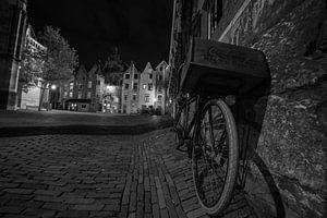 Nijmeegse fiets by night van
