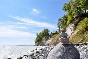 Steinturm - Kreidefelsen in der Stubbenkammer - Kreideabruch von GH Foto & Artdesign