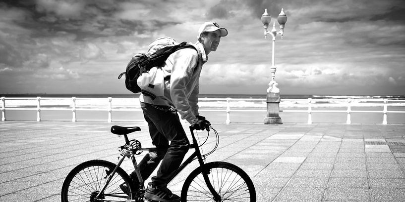 Urban / Street scene (zwart-wit) van Rob Blok