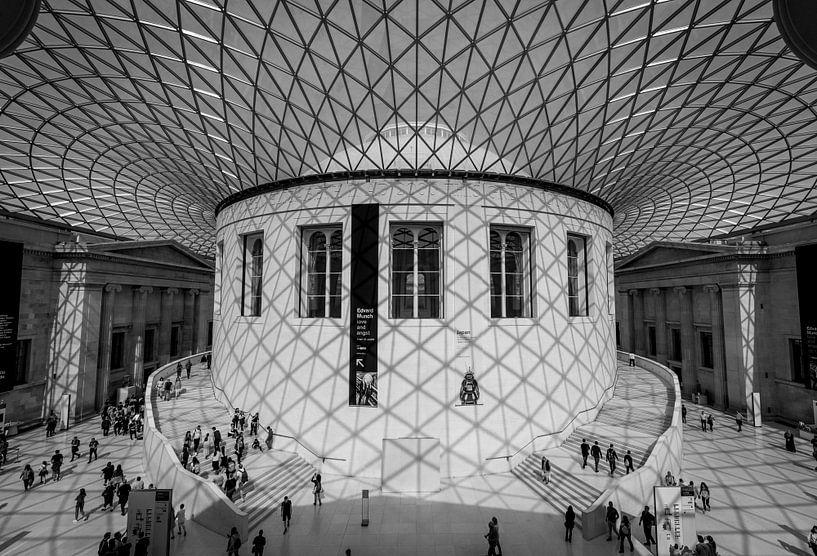 British Museum - view at the inside van Robin Gooijers