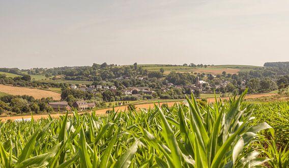 Kerkdorpje Eys in Zuid-Limburg