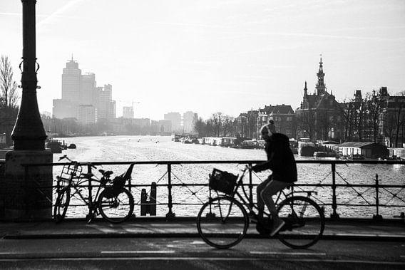 Amstel / Ceintuurbaan Zwart-Wit van PIX URBAN PHOTOGRAPHY
