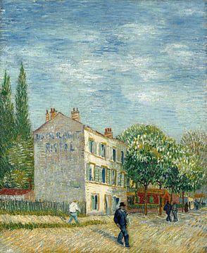 Restaurant Rispal à Asnières, Vincent van Gogh sur