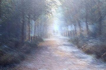 Waldlandschaft von Marjo Snellenburg