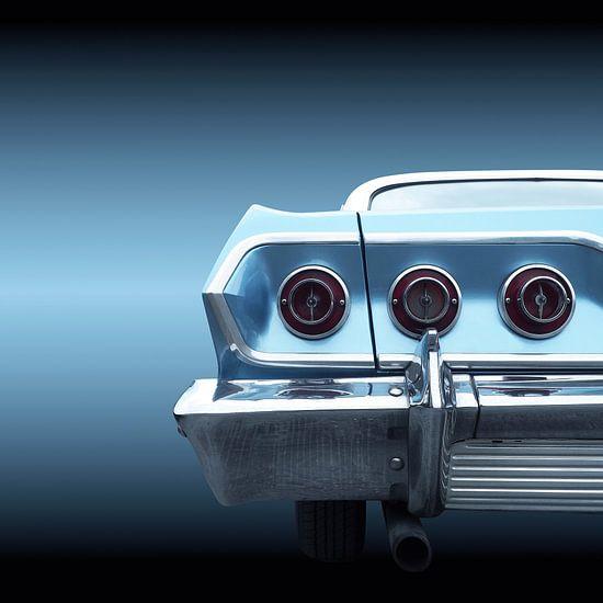 Amerikaanse klassieke auto 1963 impala