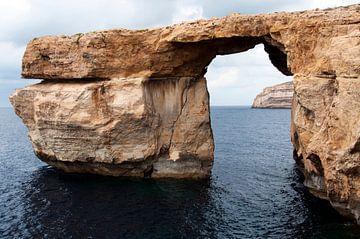 de azure window op het eiland malta van ChrisWillemsen