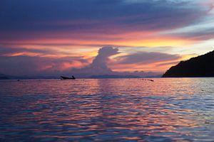 Sunset  van Dennis Debie