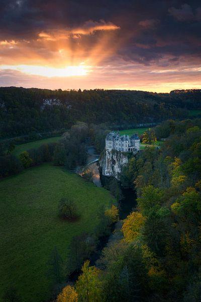 Castle of Walzin, Belgium sur Sven Broeckx