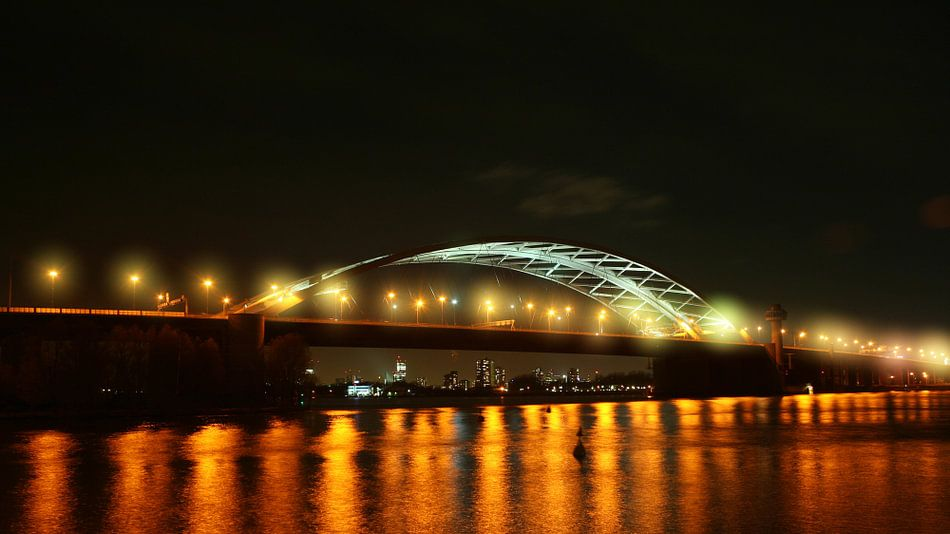 van Brienenoord brug Rotterdam van Dennis Bliek