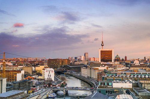Berlijn Skyline van Mark Meijrink