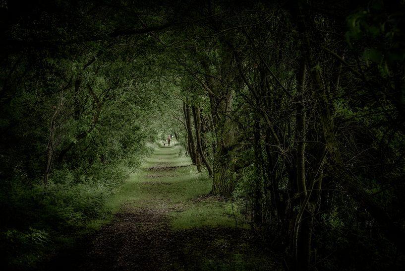 Green tunnel van Ruud Peters