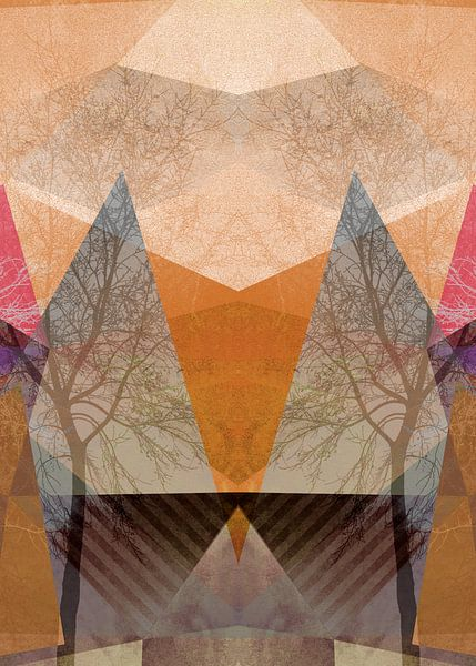 P22-D TREES AND TRIANGLES van Pia Schneider