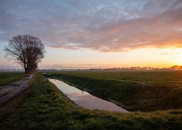 Zonsopkomst in Drenthe van Manon Zandt