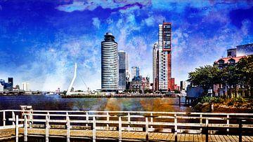 Skyline Rotterdam van Kok and Kok