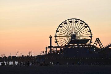 Riesenrad Santa Monica von Robert Styppa