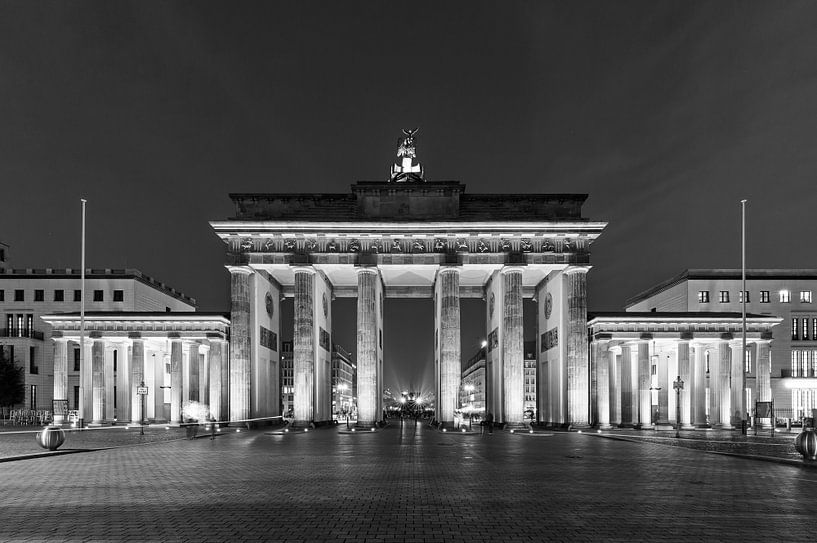 Porte de Brandebourg - Berlin sur Frank Herrmann