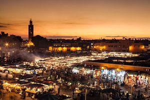 Marrakech, Djemaa el Fna...