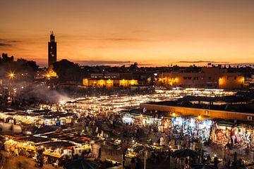 Marrakesch, Djemaa el Fna van