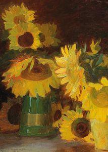 Sonnenblumen von Antonije Lazovic